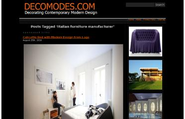http://www.decomodes.com/tag/italian-furniture-manufacturer/