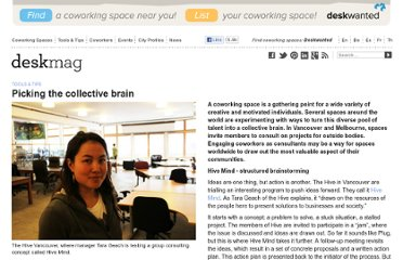 http://www.deskmag.com/en/picking-the-collective-brain-in-coworking-spaces-372