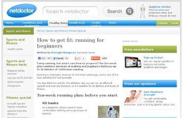 http://www.netdoctor.co.uk/sportsandfitness/running.htm