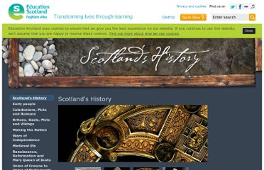 http://www.educationscotland.gov.uk/scotlandshistory/index.asp