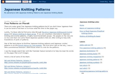 http://japaneseknittingpatterns.blogspot.com/3007/12/free-patterns-on-pierott.html