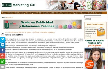 http://www.marketing-xxi.com/analisis-competitivo-17.htm