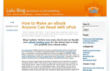 http://www.lulu.com/blog/2011/12/how-to-make-an-ebook-anyone-can-read/