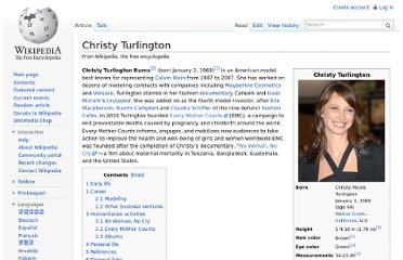 http://en.wikipedia.org/wiki/Christy_Turlington
