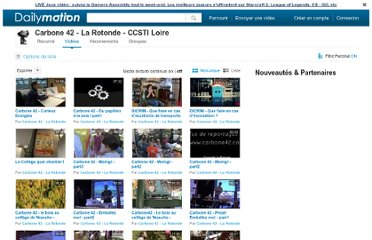http://www.dailymotion.com/user/carbone42/1