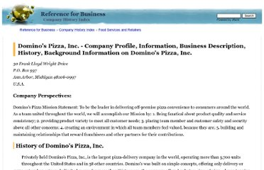 http://www.referenceforbusiness.com/history2/60/Domino-s-Pizza-Inc.html