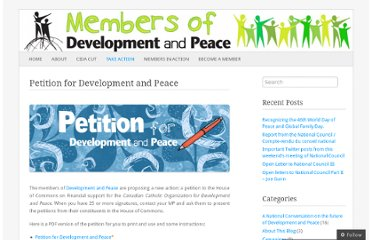 http://devpeacemembers.wordpress.com/take-action/petition-for-development-and-peace/