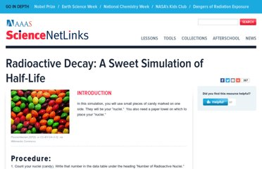 http://sciencenetlinks.com/student-teacher-sheets/radioactive-decay-sweet-simulation-half-life/
