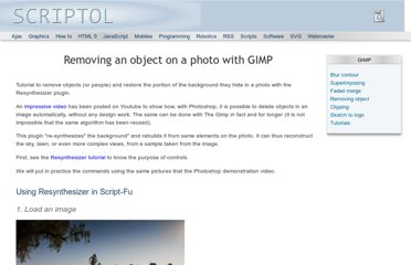 http://www.scriptol.com/design/gimp/removing-objects.php