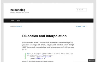 http://nelsonslog.wordpress.com/2011/04/11/d3-scales-and-interpolation/