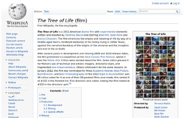 http://en.wikipedia.org/wiki/The_Tree_of_Life_(film)