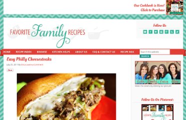 http://www.favfamilyrecipes.com/2011/07/easy-philly-cheesesteaks.html