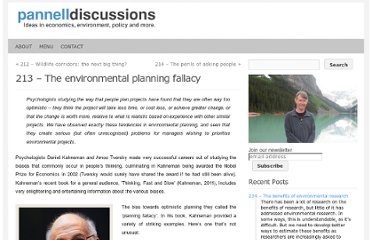 http://www.pannelldiscussions.net/2012/04/213-the-environmental-planning-fallacy/