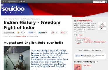 http://www.squidoo.com/indian-history-in-pictures