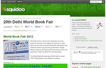 http://www.squidoo.com/word-book-fair-pragati-maidan