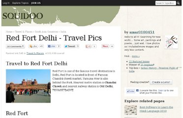 http://www.squidoo.com/red-fort-delhi