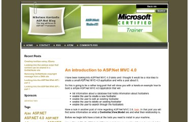 http://weblogs.asp.net/dotnetstories/archive/2012/04/26/an-introduction-to-asp-net-mvc-4-0.aspx