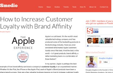 http://smedio.com/2012/04/30/how-to-increase-customer-loyalty-with-brand-affinity/