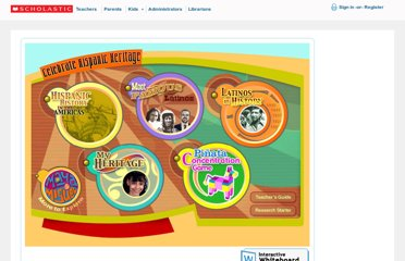 http://teacher.scholastic.com/activities/hispanic/index.htm
