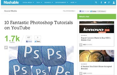 http://mashable.com/2010/04/11/youtube-photoshop-tutorials/