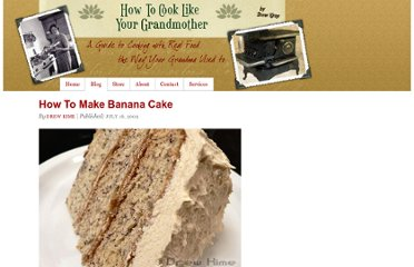 http://cooklikeyourgrandmother.com/2009/07/how-to-make-banana-cake/