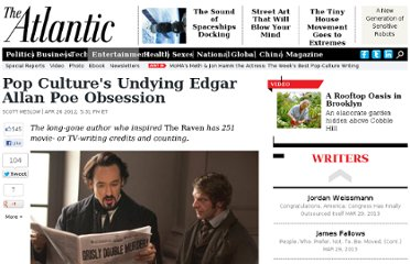 http://www.theatlantic.com/entertainment/archive/2012/04/pop-cultures-undying-edgar-allan-poe-obsession/256417/#slide1