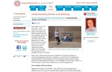 http://www.uncommon-knowledge.co.uk/articles/bullying.html