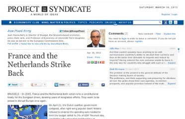 http://www.project-syndicate.org/commentary/france-and-the-netherlands-strike-back