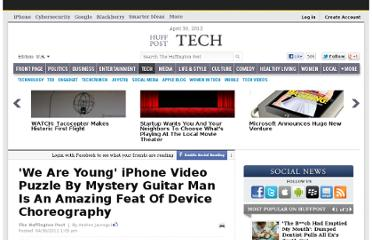 http://www.huffingtonpost.com/2012/04/30/we-are-young-iphone-video-puzzle-by-mystery-guitar-man_n_1464738.html