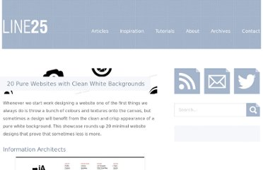 http://line25.com/articles/20-pure-websites-with-clean-white-backgrounds