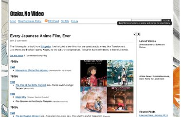http://www.otakunovideo.net/2010/09/every-anime-film-ever/