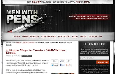 http://menwithpens.ca/4-ways-to-write-an-ebook/