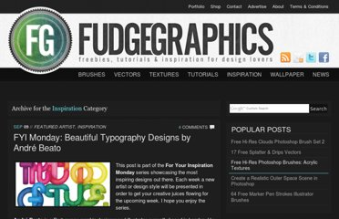 http://www.fudgegraphics.com/category/inspiration/