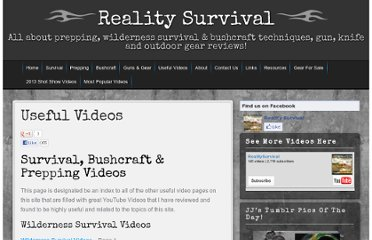 http://www.realitysurvival.com/useful-videos/