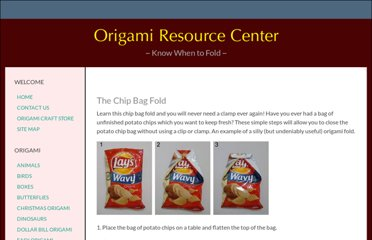 http://www.origami-resource-center.com/chip-bag-fold.html