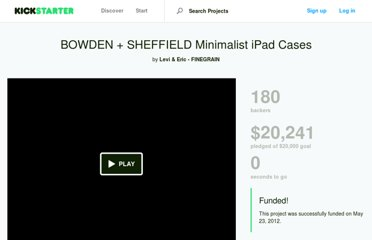 http://www.kickstarter.com/projects/finegrain/bowden-sheffield-minimalist-ipad-cases