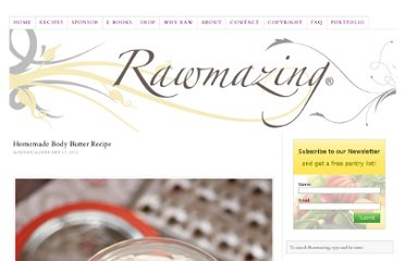 http://www.rawmazing.com/homemade-body-butter-recipe/