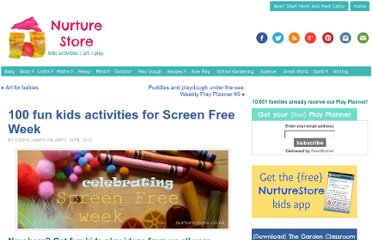 http://nurturestore.co.uk/screen-free-week-kids-activities