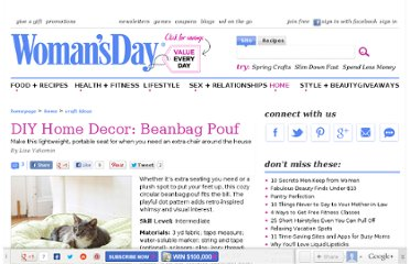 http://www.womansday.com/home/craft-ideas/diy-home-decor-beanbag-pouf-107370