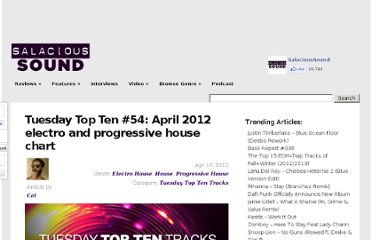 http://salacioussound.com/2012/04/tuesday-top-ten-54-april-2012-electro-and-progressive-house-chart/