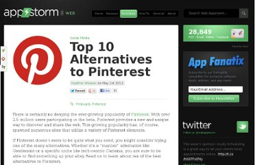 http://web.appstorm.net/roundups/social-media-roundups/top-10-alternatives-to-pinterest/