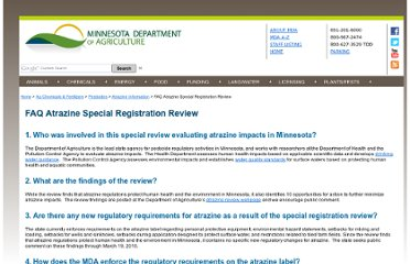 http://www.mda.state.mn.us/chemicals/pesticides/atrazine/reviewfaq.aspx