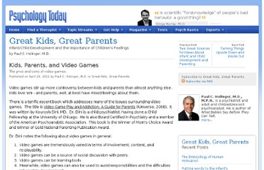 http://www.psychologytoday.com/blog/great-kids-great-parents/201104/kids-parents-and-video-games