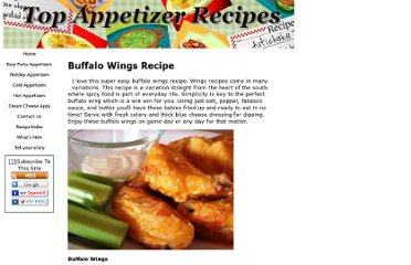 http://www.top-appetizer-recipes.com/buffalo-wings-recipe.html
