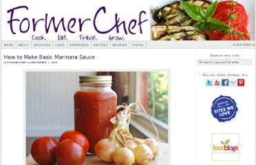 http://www.formerchef.com/2009/09/01/how-to-make-basic-marinara-sauce/