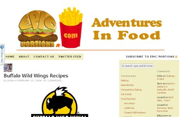 http://www.epicportions.com/2009/02/25/buffalo-wild-wings-recipes/