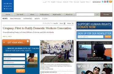http://www.hrw.org/news/2012/05/01/uruguay-first-ratify-domestic-workers-convention