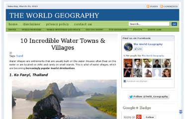 http://www.theworldgeography.com/2012/02/10-incredible-water-towns-villages.html