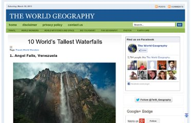 http://www.theworldgeography.com/2010/11/10-worlds-tallest-waterfalls.html