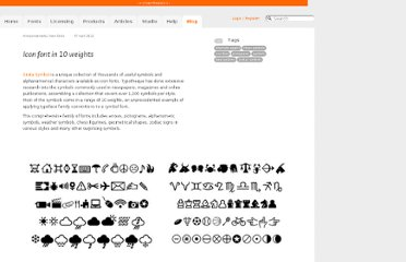 http://www.typotheque.com/blog/icon_font_in_10_weights